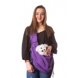 Kelioninis krepšys šunims Juliette, violetinė spalva