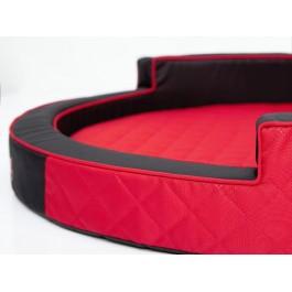 Hobby Dog Ringo apvalus guolis šunims raudonas