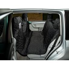 Automobilio sėdynių užtiesalas šunims (juodas)