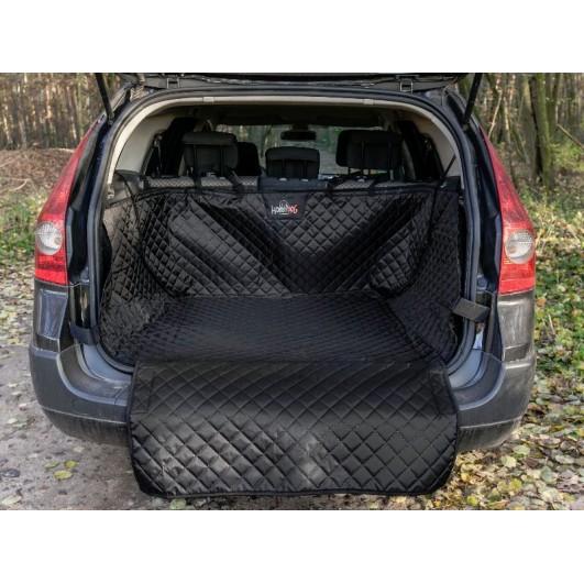 Automobilio bagažinės užtiesalas šunims (juodas) Užtiesalai automobiliui