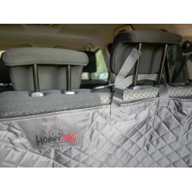 Automobilio bagažinės užtiesalas šunims (pilkas)