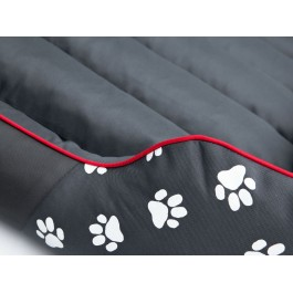 Cordura Prestige guolis šunims pilkas su pėdutėmis