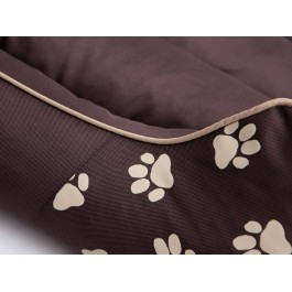 Cordura Prestige guolis šunims rudas su pėdutėmis