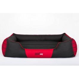 Cordura Prestige guolis šunims juodas ir raudonas su juostom