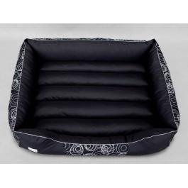 Cordura Prestige guolis šunims juodas su apskritimais