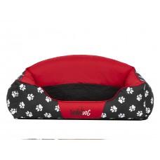 Guolis šunims Royal Exclusive raudonas su pėdutėmis