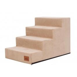 Laiptai šunims - Savoy - smėlio spalva
