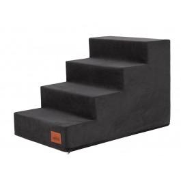 Laiptai šunims - Savoy - juoda spalva