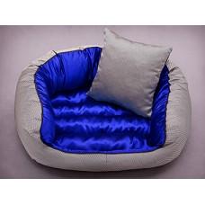 York guolis šunims mėlynas + pagalvėlė