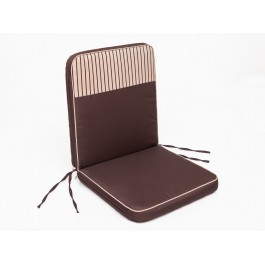 Pagalvė Bankok - ruda/smėlio spalva