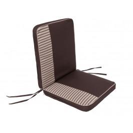 Pagalvė Bankok - ruda/šone smėlio spalva