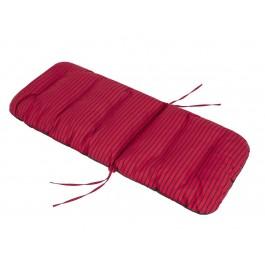 Pagalvė Basia - raudona, juostos