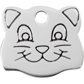 "Red Dingo ID pakabukas ""Cat Face"" su graviravimu"