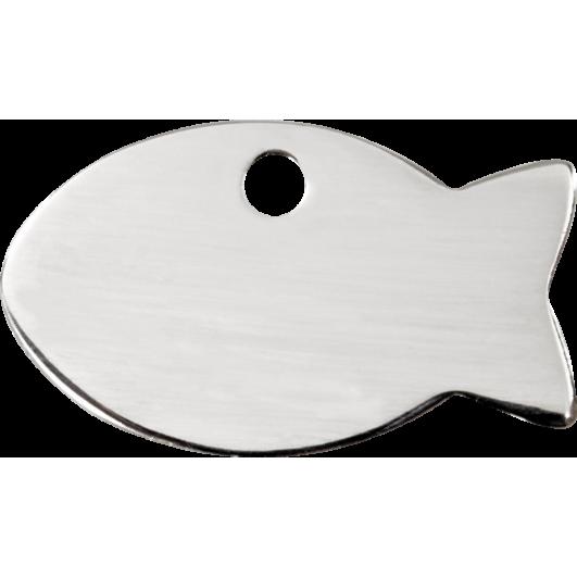 """Red Dingo ID pakabukas """"Fish"""" su graviravimu Nerūdijančio plieno pakabukai"""