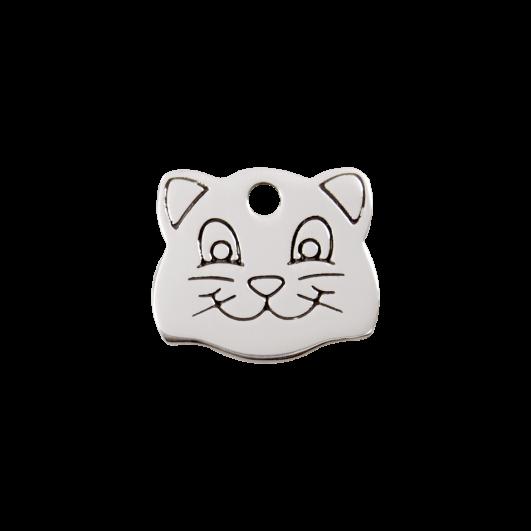 """Red Dingo ID pakabukas """"Cat Face"""" su graviravimu Nerūdijančio plieno pakabukai"""
