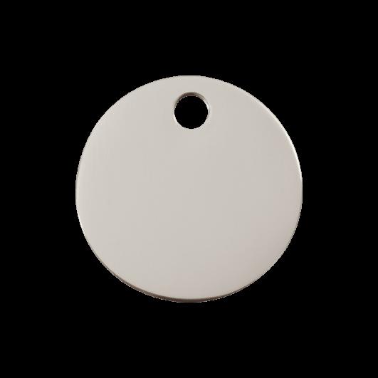 """Red Dingo ID pakabukas """"Circle"""" su graviravimu Nerūdijančio plieno pakabukai"""