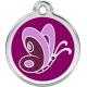 "Red Dingo ID pakabukas ""Butterfly Purple"" su graviravimu"