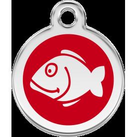 """Red Dingo ID pakabukas """"Fish"""" su graviravimu"""