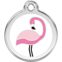 "Red Dingo ID pakabukas ""Flamingo White"" su graviravimu"