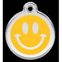 """Red Dingo ID pakabukas """"Smiley Face"""" su graviravimu"""