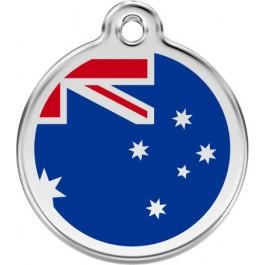 "Red Dingo ID pakabukas ""Australian Flag"" su graviravimu"
