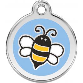 "Red Dingo ID pakabukas ""Bumble Bee"" Light Blue su graviravimu"