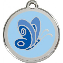 "Red Dingo ID pakabukas ""Butterfly Blue"" su graviravimu"