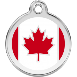 "Red Dingo ID pakabukas ""Canadian Flag"" su graviravimu"