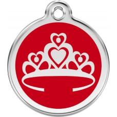 """Red Dingo ID pakabukas """"Crown"""" su graviravimu"""