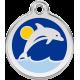 "Red Dingo ID pakabukas ""Dolphin"" su graviravimu"