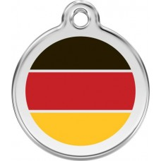 "Red Dingo ID pakabukas ""German Flag"" su graviravimu"