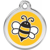 """Red Dingo ID pakabukas """"Bumble Bee"""" Yellow su graviravimu"""