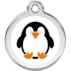 """Red Dingo ID pakabukas """"Penguin White"""" su graviravimu"""