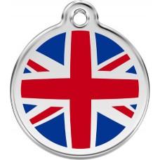 "Red Dingo ID pakabukas ""UK Flag"" su graviravimu"