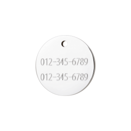 "Red Dingo ID pakabukas ""Circle"" su graviravimu"