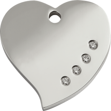 "Red Dingo ID pakabukas ""Diamante Heart"" su Swarovski"