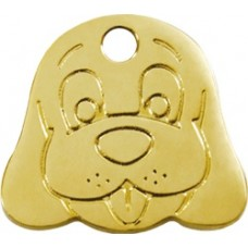 "Red Dingo ID pakabukas ""Dog Face"" su graviravimu"