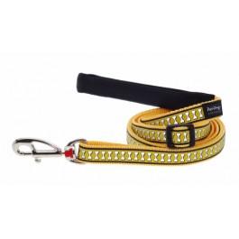 Red Dingo atspindintis pavadėlis šunims geltonas 12mm - 1,2m