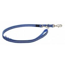 Red Dingo universalus atspindintis pavadėlis šunims mėlynas 12mm x 2.0m