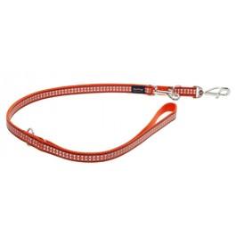 Red Dingo universalus atspindintis pavadėlis šunims oranžinis 12mm x 2.0m